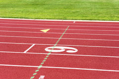 Track and field Royalty Free Stock Image