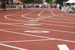 Track and field. Stock Photography