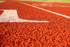 Track and field royalty free stock photo