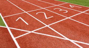 Track&Field. Track and Field athletics finish Line Royalty Free Stock Photo