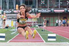 Track and Field Championship 2015 Stock Photos