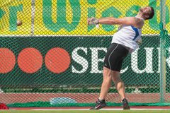 Track and Field Championship 2015 Royalty Free Stock Photo