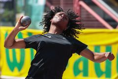Track and Field Championship 2015 Royalty Free Stock Photos