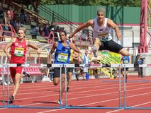 Track and Field Championship 2015 Stock Photo