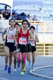 Track and field competition Royalty Free Stock Images