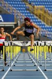 Track and field competition Stock Images