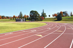 Track and field course. Race and running course for track and field royalty free stock photo