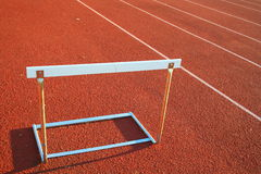 Track and Field Hurdle Royalty Free Stock Image