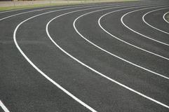 Track and Field Lanes Stock Photos