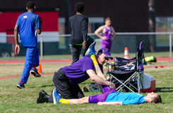 Track and Field Medicine Stock Image