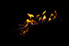Track of fire burning Stock Photos