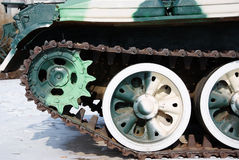 Track gears,Camouflage Royalty Free Stock Images