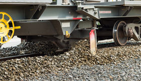 Track Gravel Plough Royalty Free Stock Photos