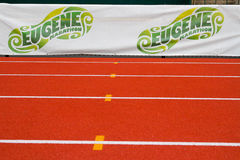 Track at Historic Hayward Field Eugene, OR Stock Image