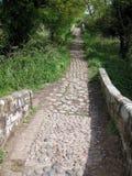 Track at Hockenhull Platts. Stony track at Hockenhull Platts Royalty Free Stock Photo
