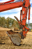 Track Hoe Stock Photography