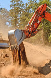 Track Hoe Royalty Free Stock Photos