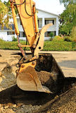 Track Hoe Royalty Free Stock Image