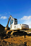 Track Hoe Royalty Free Stock Photography
