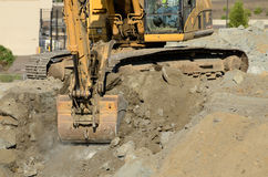 Track Hoe Royalty Free Stock Images