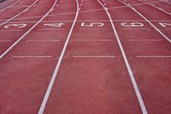 Track lane Stock Image