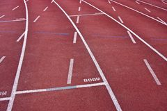 Track lane Royalty Free Stock Image