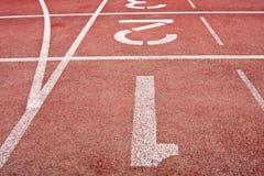 Track lane Stock Photography
