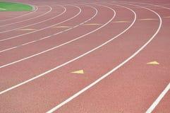 Track Lanes Royalty Free Stock Photo