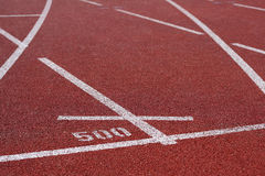 Track lanes Stock Photo