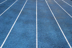Track lanes Royalty Free Stock Photography
