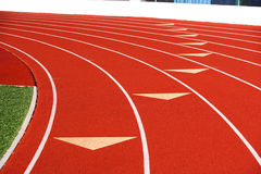Track lanes Stock Image