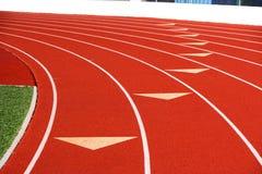 Track lanes Stock Image