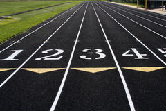 Free Track Lanes Royalty Free Stock Photography - 7621457