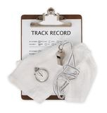 Track Record Full Stock Photography