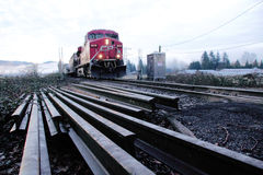 Track Repair for CN Line Stock Images