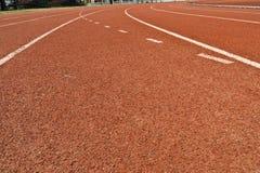 Track run Stock Image