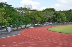 Track runing Stock Image
