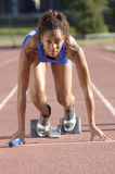 Track Runner Stock Photos