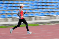 Track running Stock Photography