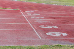 Track running Royalty Free Stock Photography