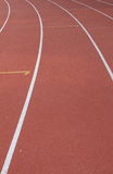 Track running sports Stock Image