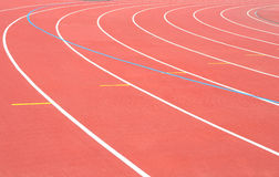 Track Running stadium Royalty Free Stock Images