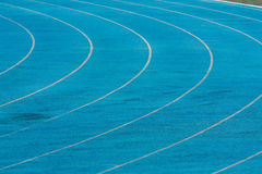 The track runs Royalty Free Stock Images