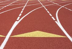 Track scene Royalty Free Stock Photography