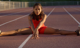 Track Star Stock Photo