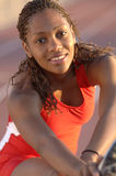 Track Star Portrait Stock Image