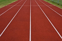Track straight wide Royalty Free Stock Photo