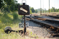 Track switch Stock Image