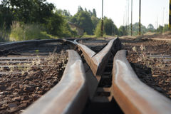 Track switch Royalty Free Stock Images