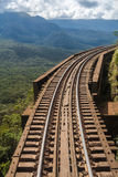 Track to Morretes Parana Brazil Stock Photo